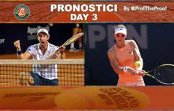 Tennis Roland Garros 2018 Day 3