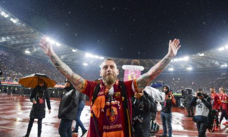 De Rossi saluta la Roma: le foto più belle del suo addio all'Olimpico
