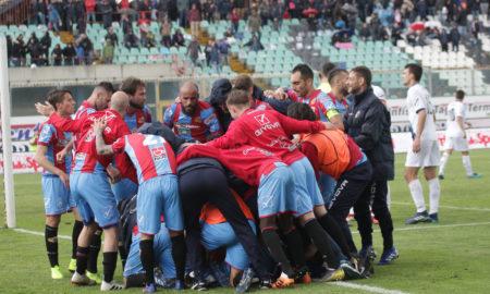 Catania-Sicula Leonzio sabato 20 aprile