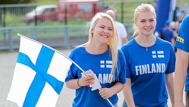 HJK-Helsinki-finlandia-Veikkausliiga-tifose