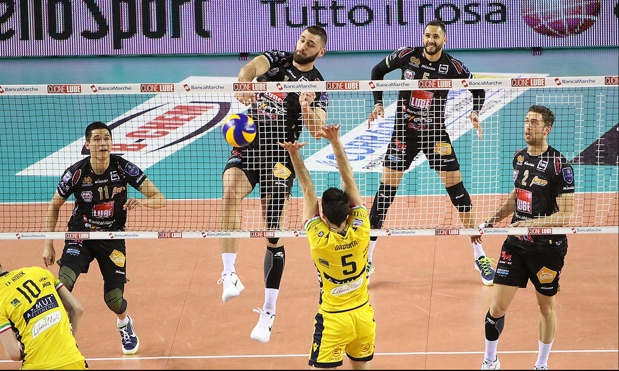 SuperLega Volley 1 novembre
