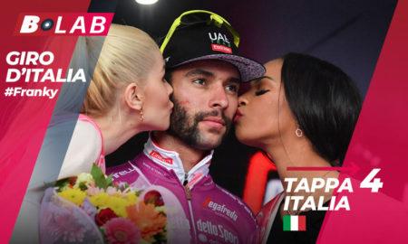 Pronostico Giro d'Italia 2019 favoriti tappa 4: Orbetello-Frascati, l'analisi, le quote e i consigli per provare la cassa insieme al B-Lab!