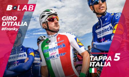Pronostico Giro d'Italia 2019 favoriti tappa 5: Frascati-Terracina, l'analisi, le quote e i consigli per provare la cassa insieme al B-Lab!