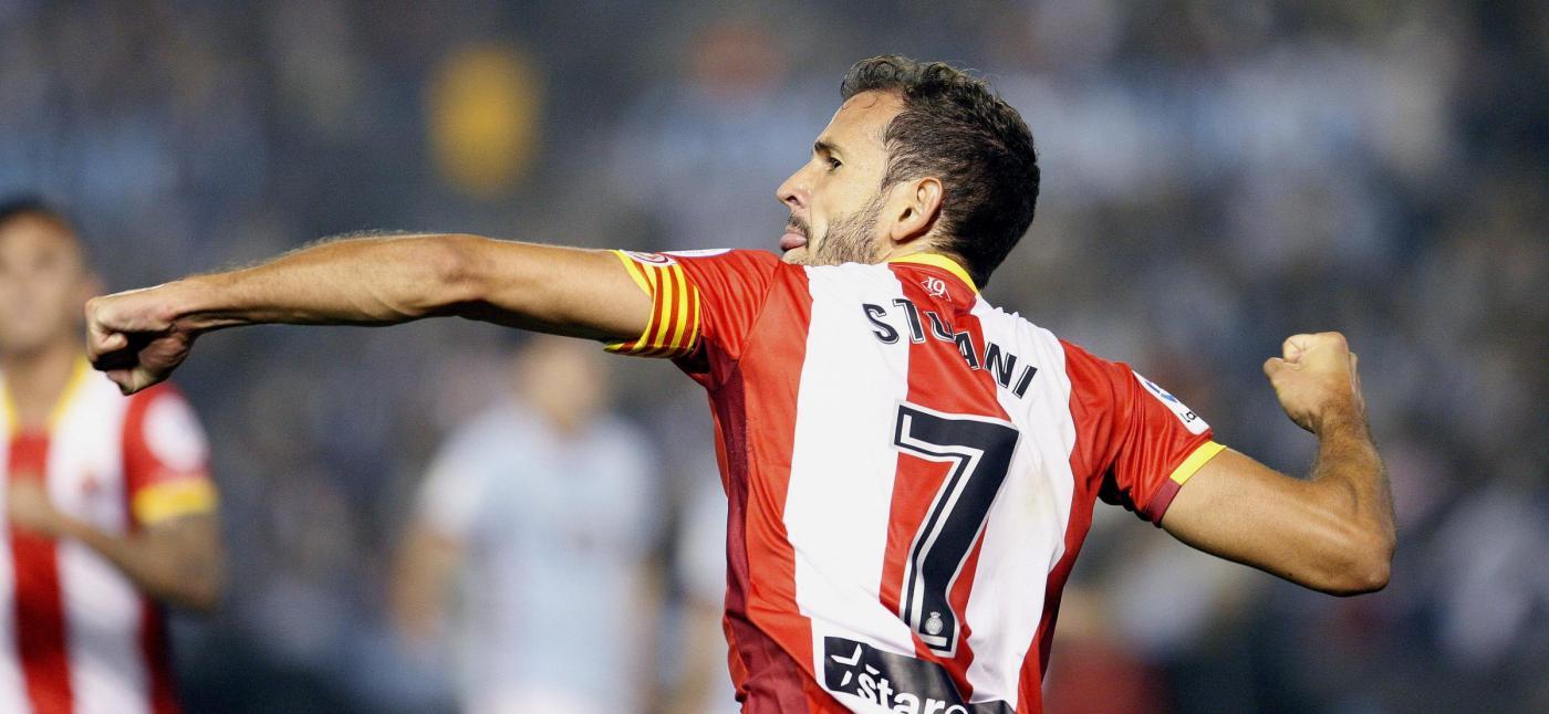 Barcellona-Stuani: l'attaccante classe 1986 potrebbe passare al Barca tramite il pagamento della clausola rescissoria di 15 milioni
