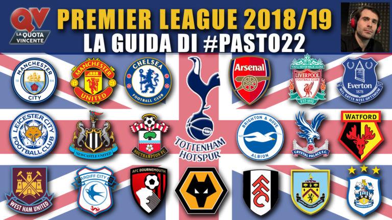 Probabili formazioni Premier League pronostici 2018 2019