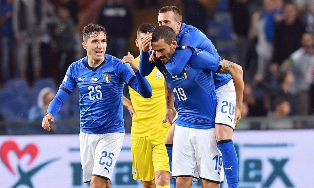 Italia-Ucraina 1-1 foto