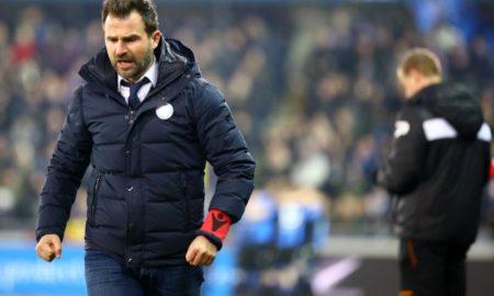 Club Brugge-Waasland Beveren 19 ottobre: si gioca per l'11 esima giornata del campionato belga. Incombe lo scandalo Calciopoli.