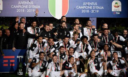 Juventus, le foto della festa scudetto della Juventus allo Stadium