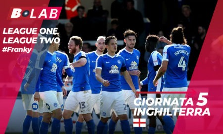 Inghilterra League One League Two pronostici giornata 5: analisi, news e consigli dei match in programma sabato 25 agosto nel blog di #Franky