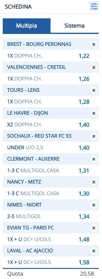 La Ligue 2 del Prof