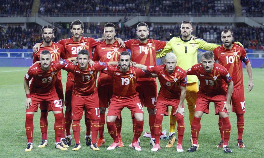 Macedonia-Gibilterra lunedì 19 novembre