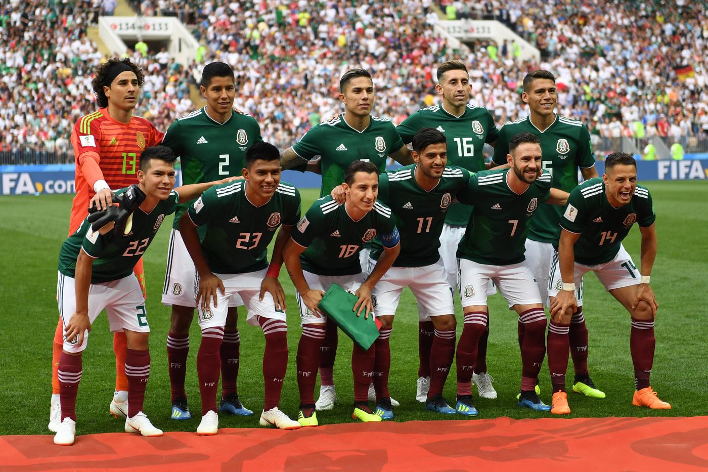 Messico-Cile martedì 16 ottobre