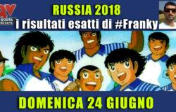 Pronostici risultati esatti Mondiali 24 giugno: le scelte di #FrankyDefa