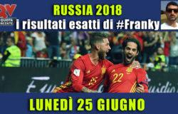 Pronostici risultati esatti Mondiali 25 giugno