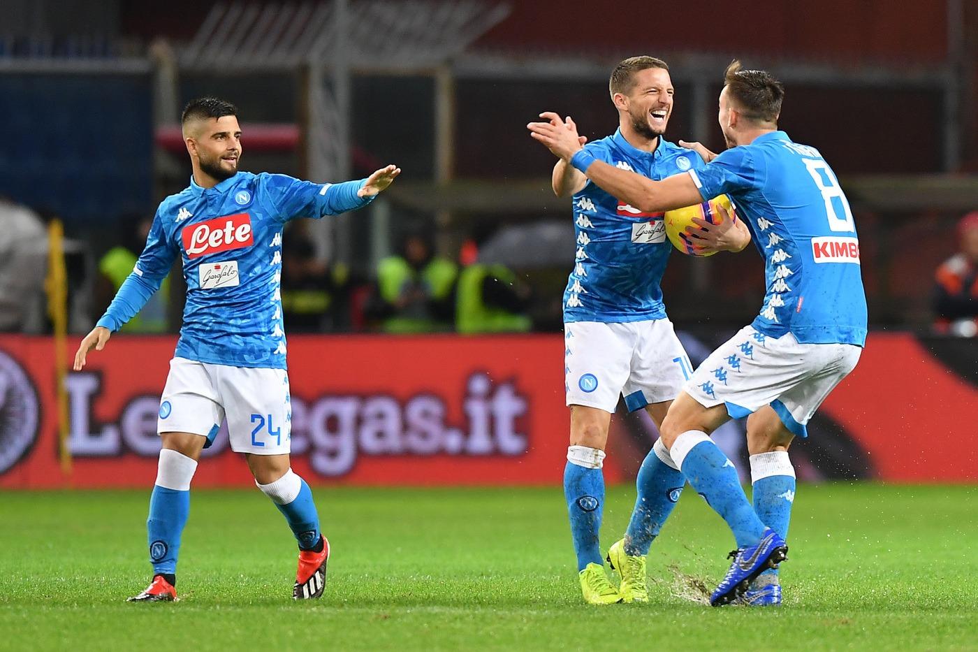 Napoli-Frosinone 8 dicembre: si gioca per la 15 esima giornata del nostro campionato. I partenopei non possono fallire questa gara.