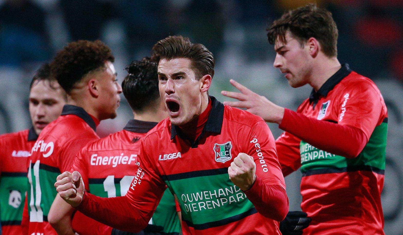 Eerste Divisie, Nijmegen-Almere: locali con difesa ballerina