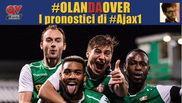 Pronostici Eerste Divisie giornata 20: tutte le quote e le bollette di #OlanDaOver il blog di #Ajax1!