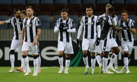 Super League Grecia 3 novembre: si giocano 4 gare dell'ottava giornata del campionato greco. PAOK in vetta a quota 22 punti.