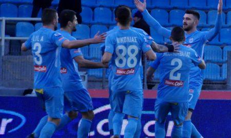 Super League Grecia 25 febbraio: si giocano 2 gare della 22 esima giornata del campionato greco. PAOK in vetta con 57 punti all'attivo.