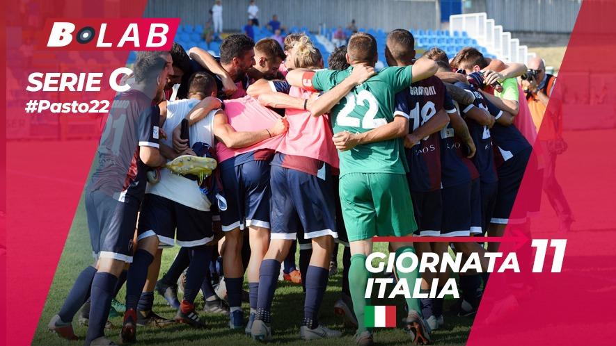 Pronostici Serie C 11 novembre: #Csiamo, il blog di #Pasto22