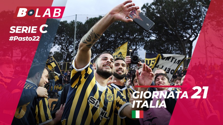 Pronostici Serie C 20 gennaio: #Csiamo, il blog di #Pasto22