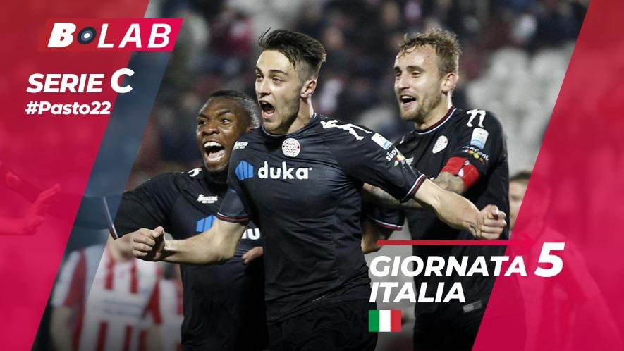Pronostici Serie C 7 ottobre: #Csiamo, il blog di #Pasto22