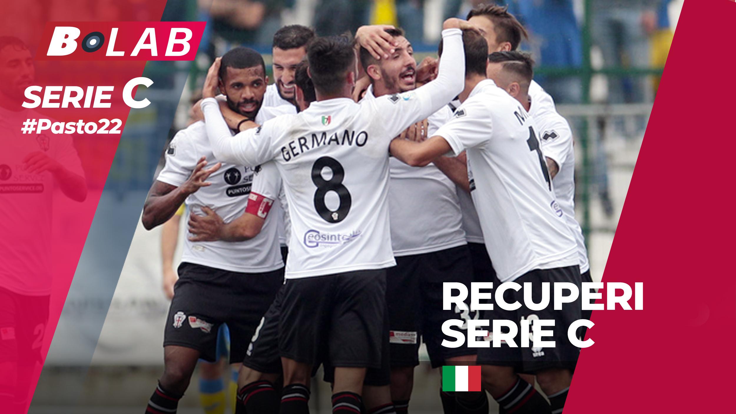 Pronostici Serie C recuperi 20-21 novembre: #Csiamo, il blog di #Pasto22