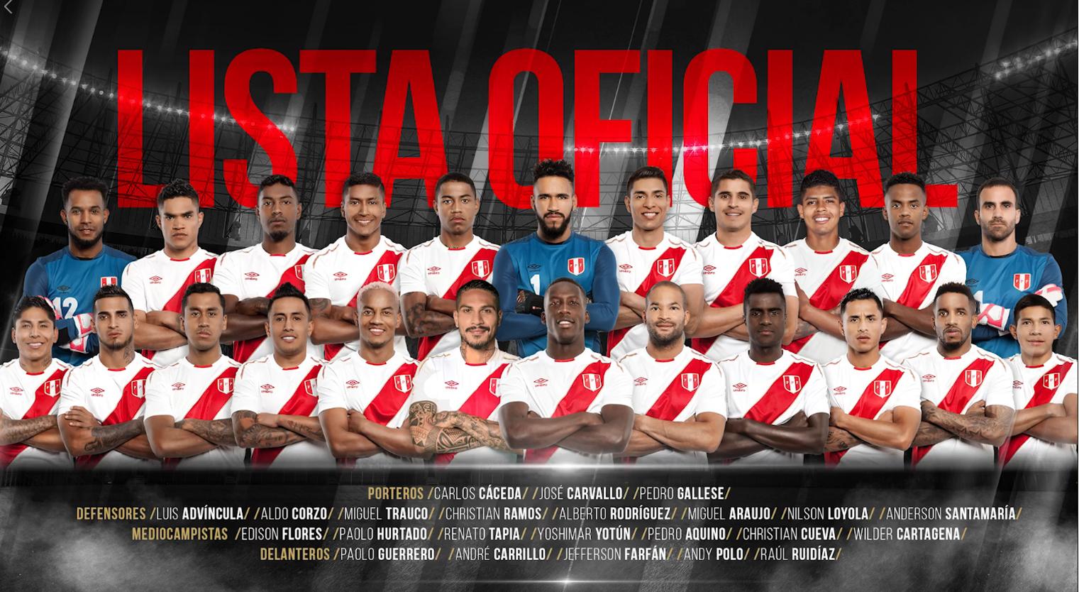 Mondiali Russia Calendario.Guida Mondiali Russia 2018 Peru Convocati Quote