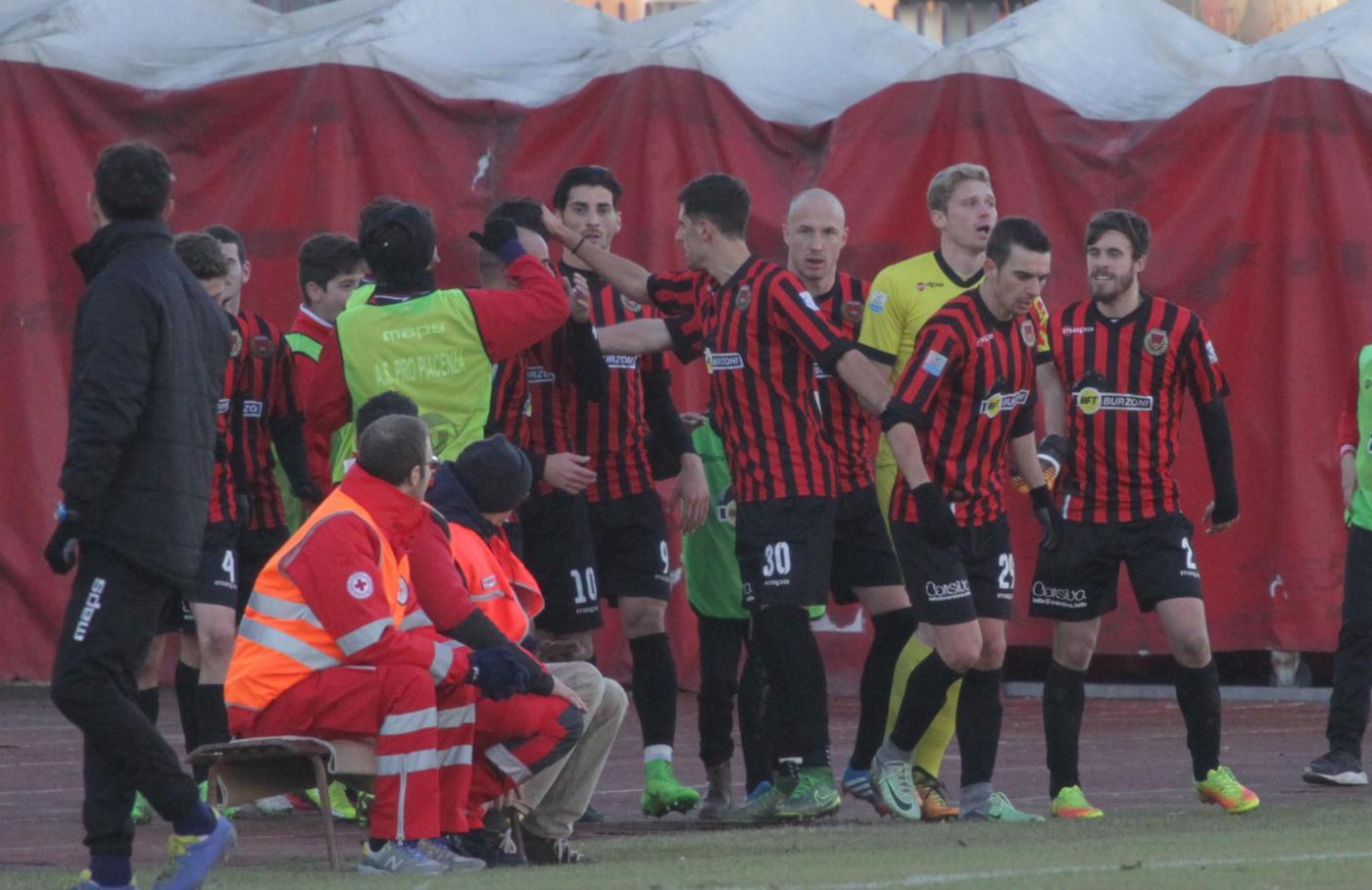 Serie C, Pro Piacenza-Gavorrano sabato 14 aprile: scontro salvezza