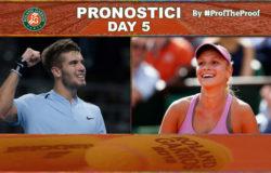 Tennis Roland Garros 2018 Day 5