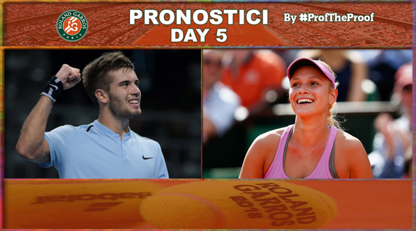 Tennis Roland Garros 2018 Day 5