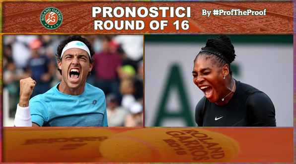 Tennis Roland Garros 2018 Round of 16
