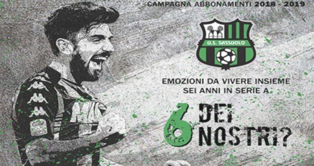 Guida Serie A 2018-2019 SASSUOLO: neroverdi al sesto anno di Serie A