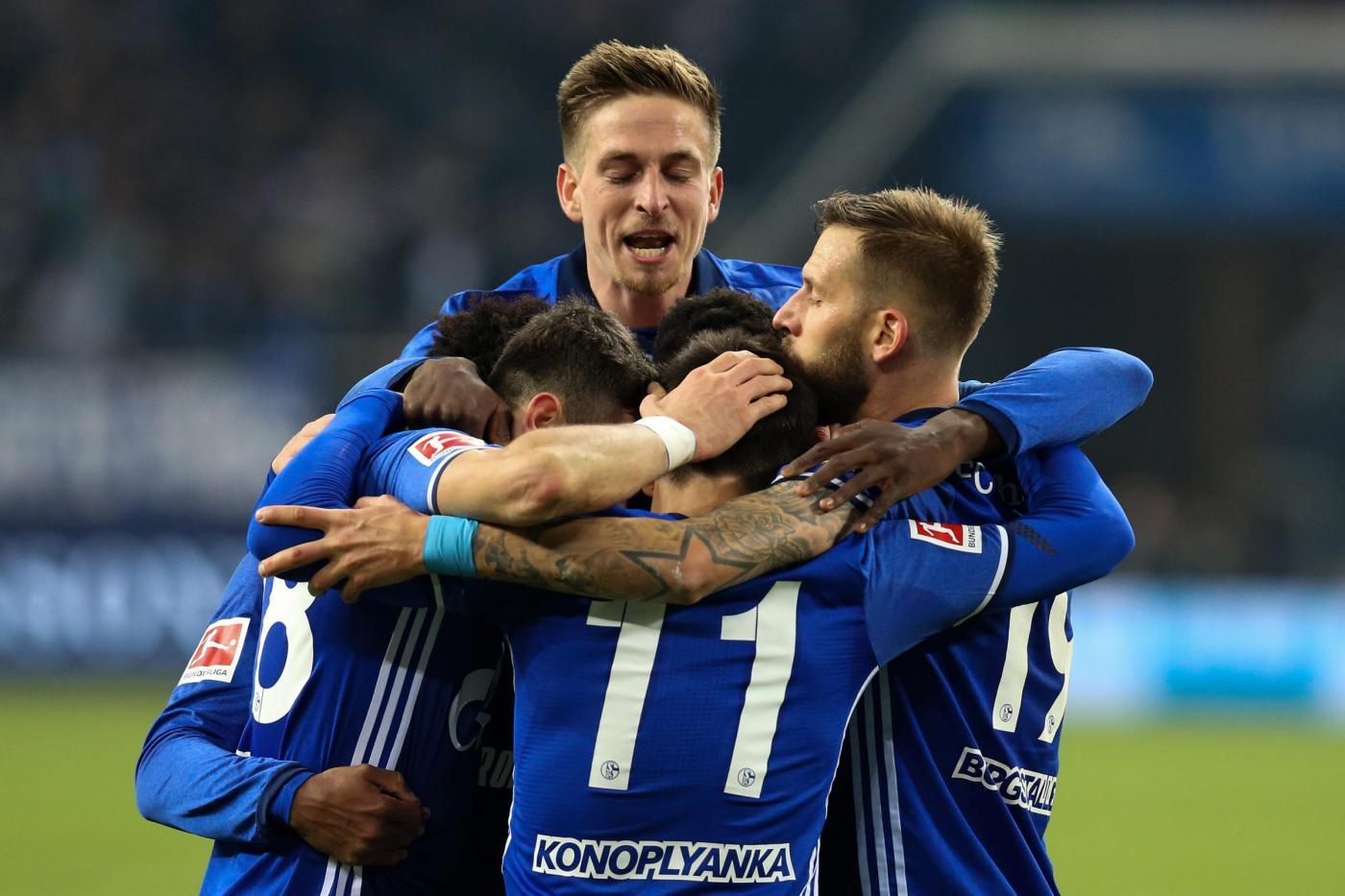 Schalke 04-Wolfsburg mercoledì 7 febbraio, analisi e pronostico DFB Pokal
