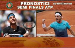 Tennis Roland Garros 2018 Semi Finals ATP