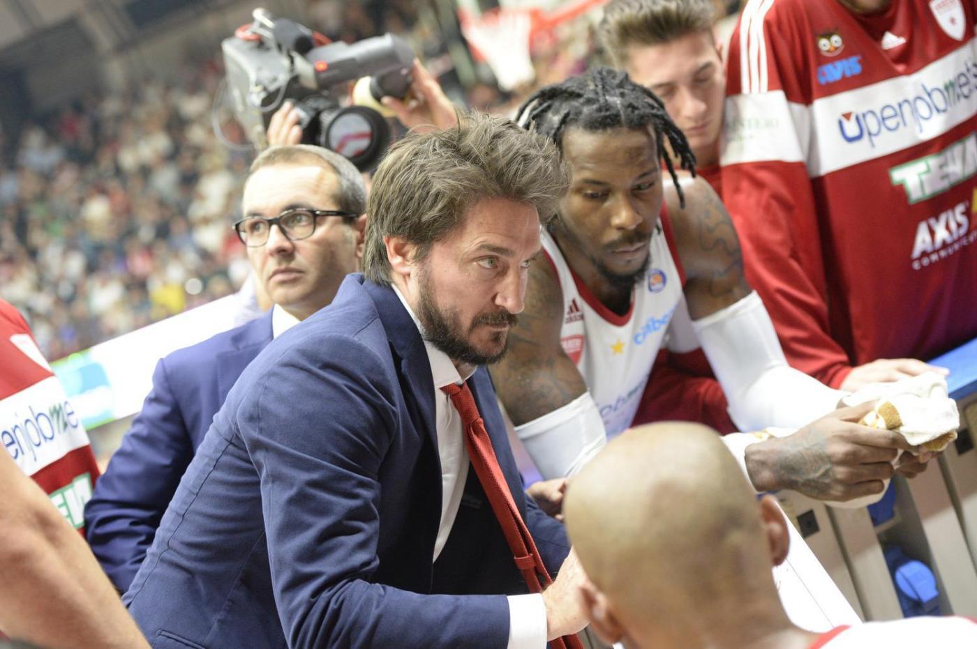 Olimpia Milano-Sassari mercoledì 29 maggio