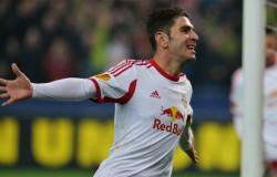 Soriano, attaccante del Red Bull Salisburgo