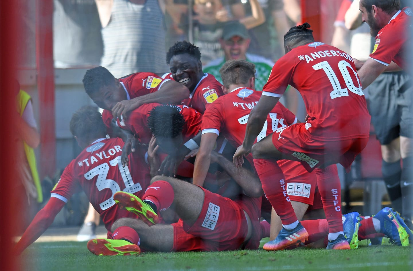 Swindon-Forest Green martedì 14 agosto