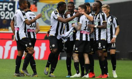 Udinese-Sassuolo sabato 20 aprile