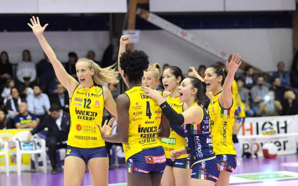 Champions League Volley Conegliano-Fenerbahce martedì 2 aprile: analisi e pronostico delle semifinali della massima competizione europea.