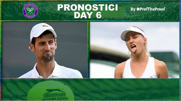 Tennis Wimbledon 2018 Day 6