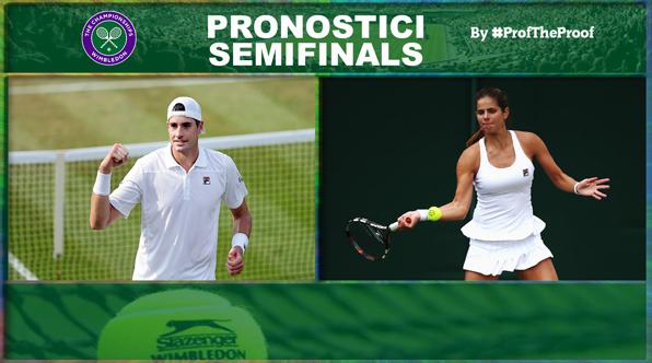 Tennis Wimbledon 2018 Semifinali
