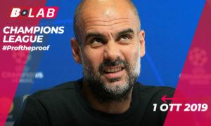 Champions League 1 Ottobre 2019
