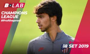 Champions League 18 Settembre 2019