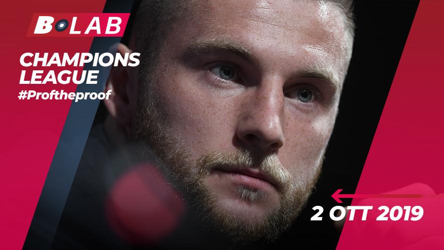 Champions League 2 Ottobre 2019