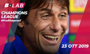 Champions League 23 Ottobre 2019
