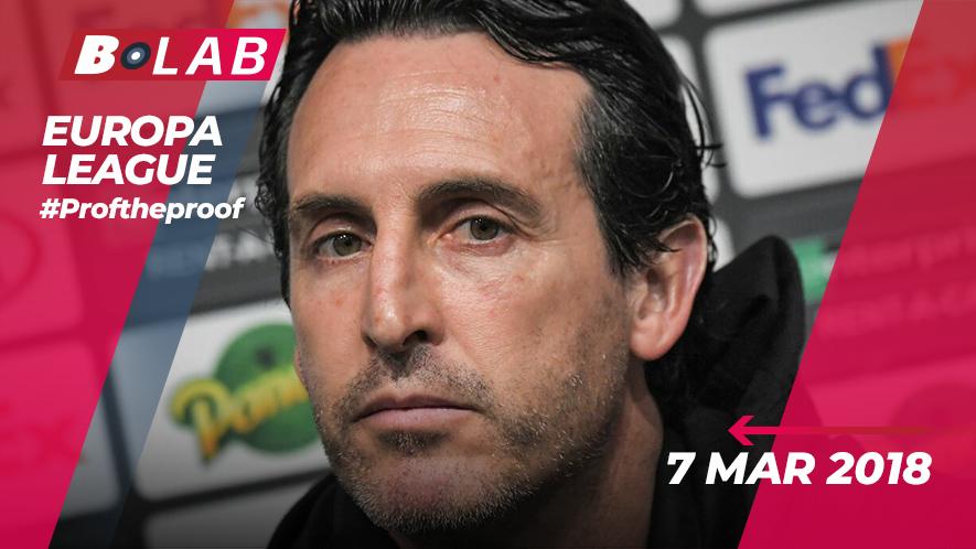 Europa League 7 Marzo 2019