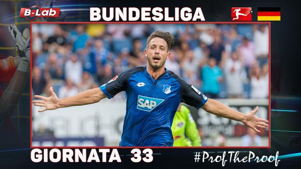Bundesliga del PROF Giornata 33
