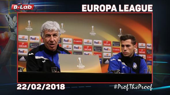 Europa League del 22 Febbraio 2018