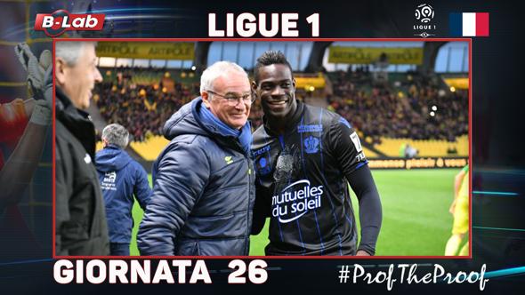 Ligue1 del PROF Giornata 26